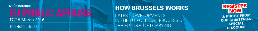 6. EU Public Affairs Conference